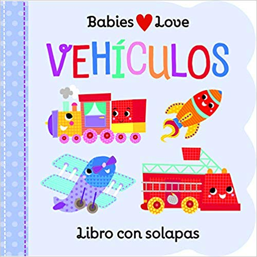 Baby Loves Vehículos-Booklandia-bilingual-spanish-childrens-books