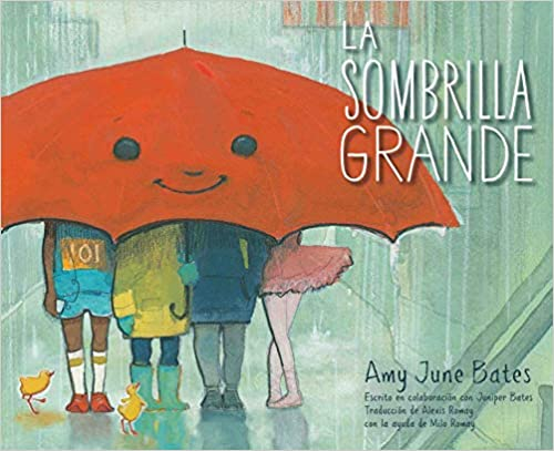 La Sombrilla Grande-Booklandia-bilingual-spanish-childrens-books