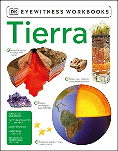 Tierra ( Eyewitness Workbook )-Booklandia-bilingual-spanish-childrens-books