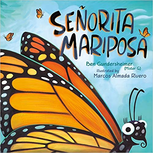 Señorita Mariposa (Signed Copy)-Booklandia-bilingual-spanish-childrens-books