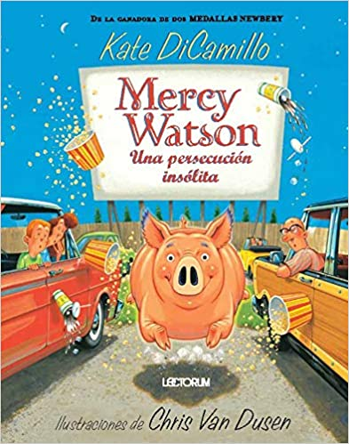 Mercy Watson una persecución insólita # 6-Booklandia-bilingual-spanish-childrens-books