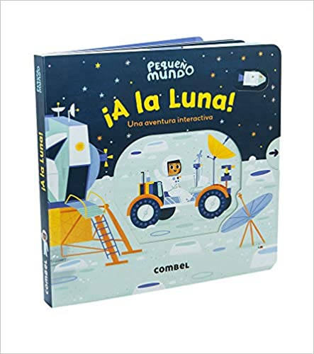 ¡A la Luna! Una aventura interactiva!-Booklandia-bilingual-spanish-childrens-books