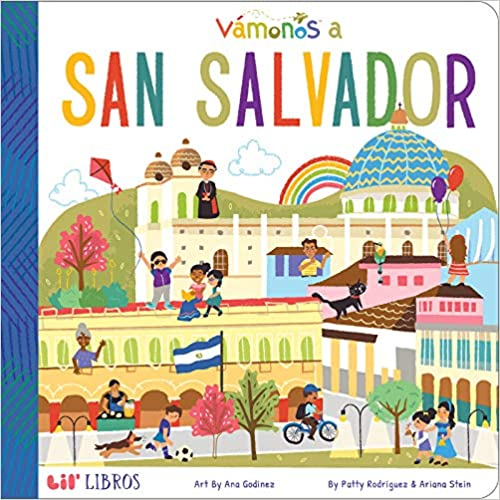 Vámonos: San Salvador-Booklandia-bilingual-spanish-childrens-books