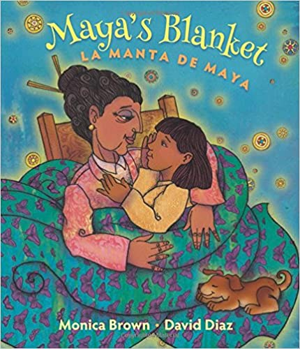 Maya's Blanket/La Manta de Maya-Booklandia-bilingual-spanish-childrens-books
