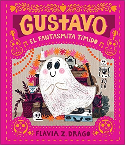 Gustavo, El Fantasmita Tímido-Booklandia-bilingual-spanish-childrens-books