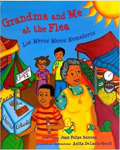 Grandma and Me at the Flea Market: Los Meros Meros Remateros-Booklandia-bilingual-spanish-childrens-books