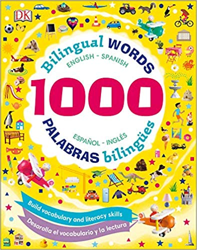1000 Bilingual Words: Palabras Bilingües: Desarolla El Vocabulario Y La Lectura-Booklandia-bilingual-spanish-childrens-books