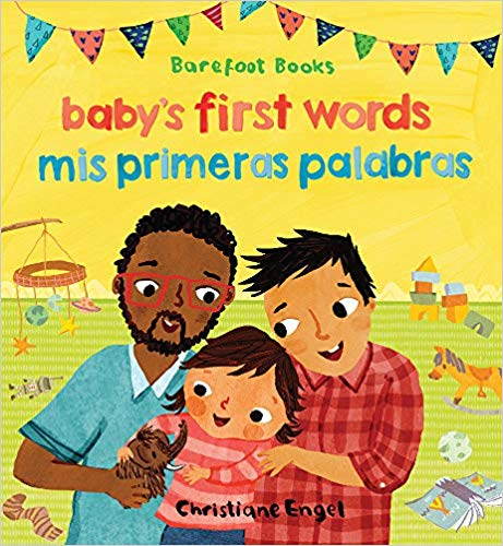 Baby's First Words/Mis Primeras Palabras-Booklandia-bilingual-spanish-childrens-books