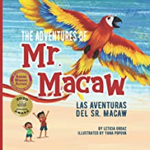 The Adventures of Mr. Macaw/Las Aventuras del Sr. Macaw-Booklandia-bilingual-spanish-childrens-books