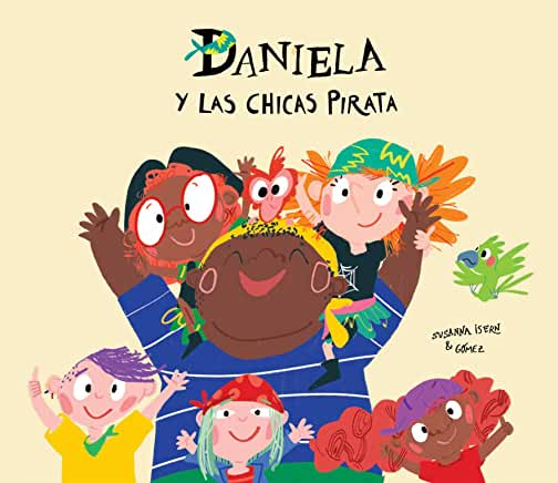 Daniela y las chicas pirata-Booklandia-bilingual-spanish-childrens-books
