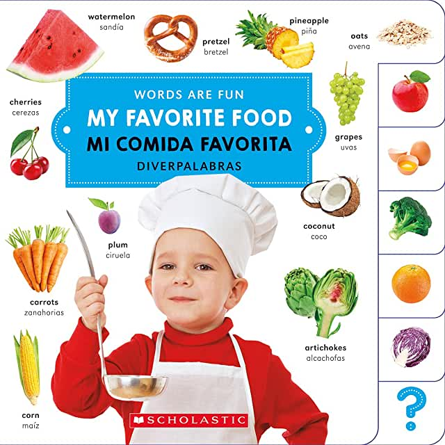 My Favorite Food/ Mi comida favorita-Booklandia-bilingual-spanish-childrens-books