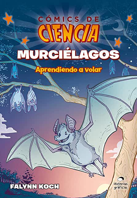 Cómics de Ciencia Murciélagos-Booklandia-bilingual-spanish-childrens-books