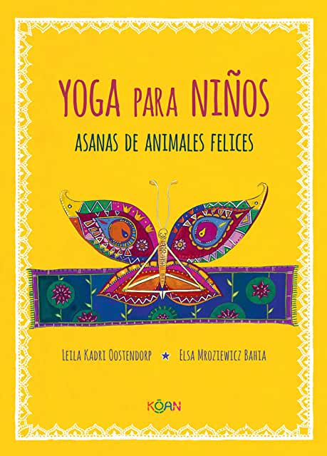 Yoga para Niños Asanas de Animales Felices-Booklandia-bilingual-spanish-childrens-books