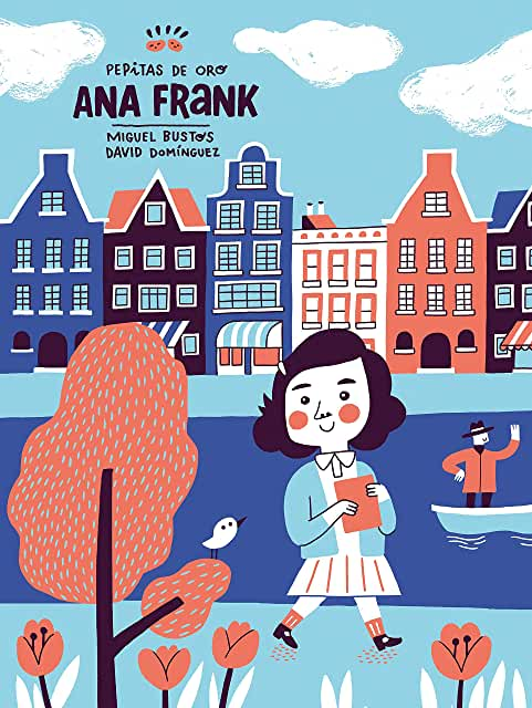 Pepitas de Oro: Ana Frank-Booklandia-bilingual-spanish-childrens-books