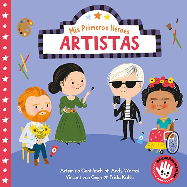 Mis Primeros Héroes Artistas-Booklandia-bilingual-spanish-childrens-books