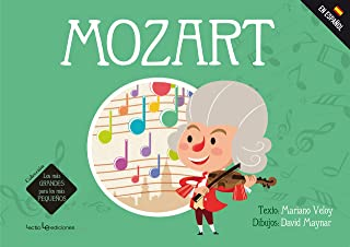 Mozart ( Mas Grandes Para los Mas Pequenos )-Booklandia-bilingual-spanish-childrens-books