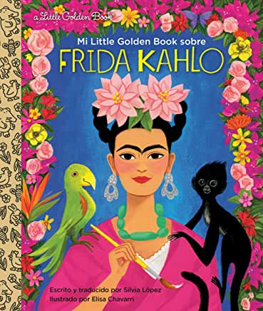 Mi little golden book sobre Frida Kahlo-Booklandia-bilingual-spanish-childrens-books