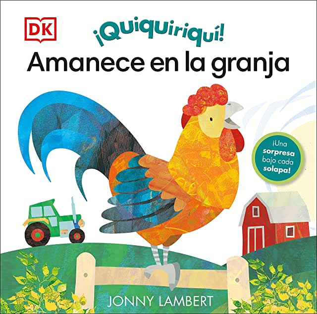 ¡Quiquiriquí! amanece en la granja-Booklandia-bilingual-spanish-childrens-books
