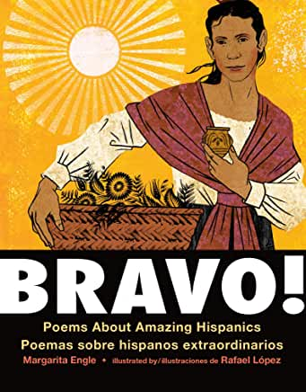 Bravo! Poems About Amazing Hispanics/Poemas sober hispanos extraordinaries (Board book)-Booklandia-bilingual-spanish-childrens-books