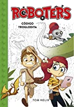Roboters 2: Código troglodita-Booklandia-bilingual-spanish-childrens-books