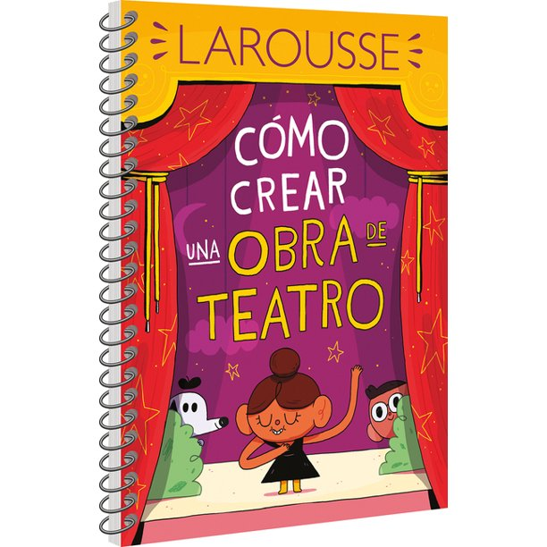 Cómo Crear Una Obra de Teatro-Booklandia-bilingual-spanish-childrens-books