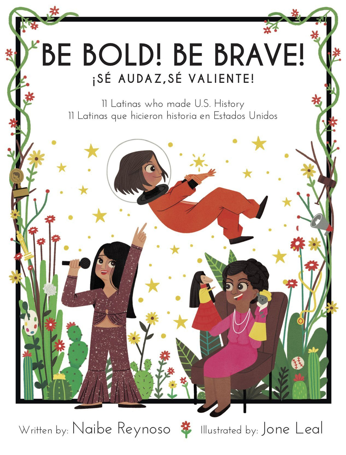 Be Bold! Be Brave! 11 Latinas who made U.S. History-Booklandia-bilingual-spanish-childrens-books