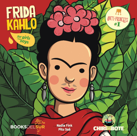 Anti-Princess #1: Frida Kahlo for Girls and Boys (in English)-Booklandia-bilingual-spanish-childrens-books