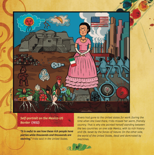 Anti-Princess #1: Frida Kahlo for Girls and Boys (in English) - Booklandia Box