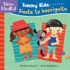 Niños mindful: Tummy Ride / Siente tu barriguita-Booklandia-bilingual-spanish-childrens-books
