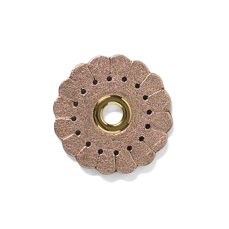 Duzies - Scalloped Flower - Rose Gold