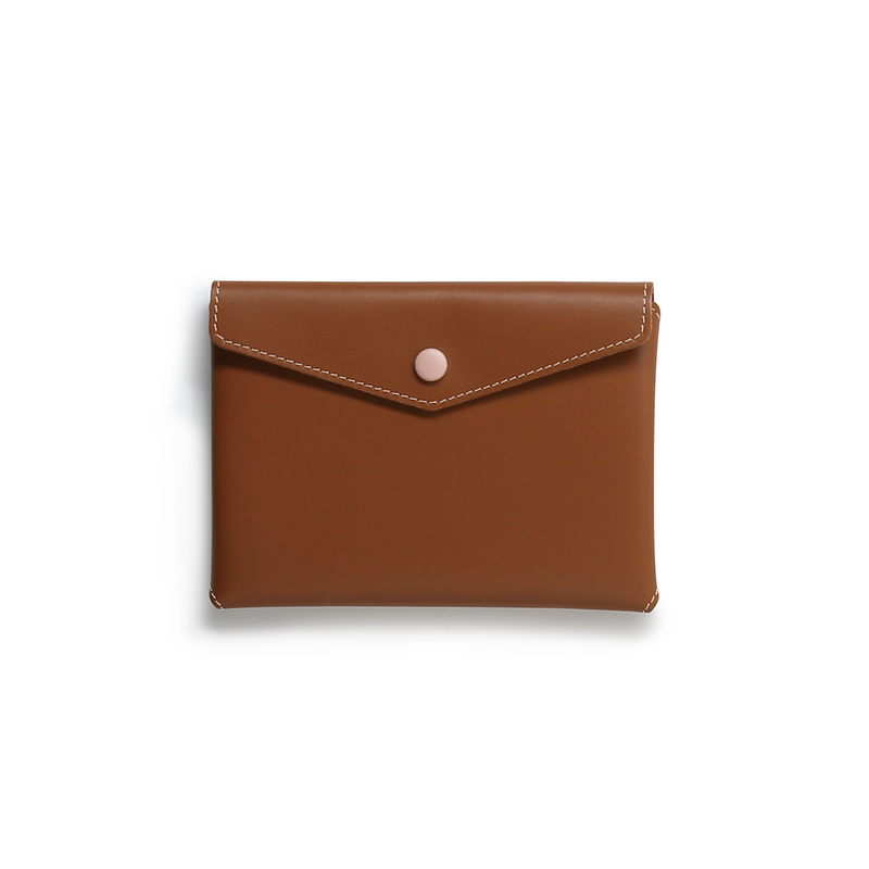 Envelope Pouch - Embossed Tan