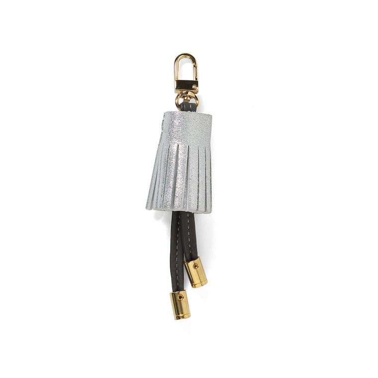 Tassel Key Ring - Hot Pink