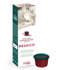 CAFFITALY ECAFFE MESSICO COFFEE CAPSULES (10 Packs of 10 Capsules) FREE DELIVERY WITHIN THE UK ONLY - amrcoffeepods