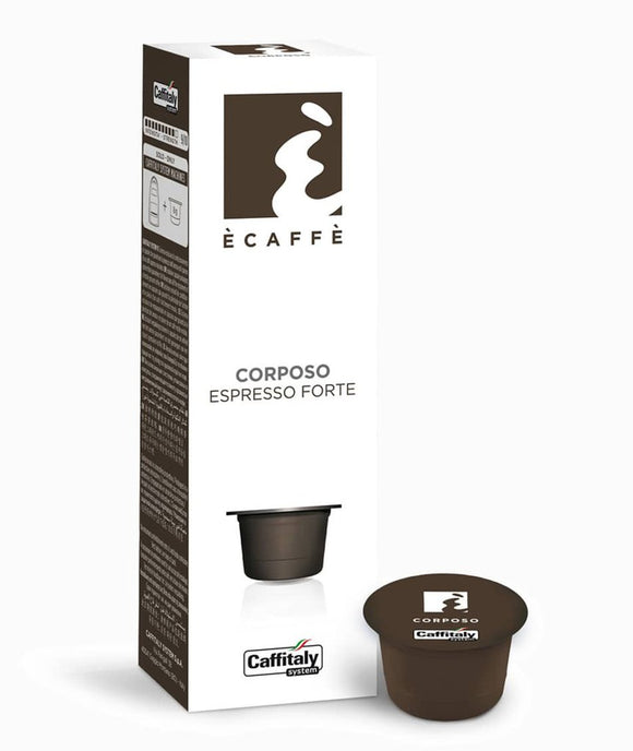 CAFFITALY ECAFFE CORPOSO COFFEE CAPSULES (10 Packs of 10 Capsules) FREE UK DELIVERY