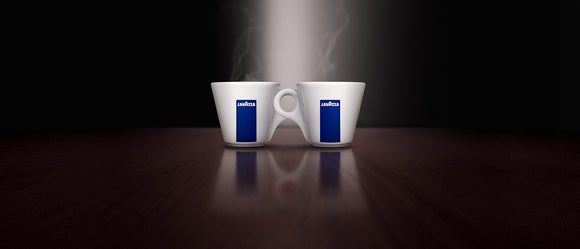 Lavazza Ancap China cups + Saucers ( Espresso Size ) FREE DELIVERY WITHIN THE UK ONLY - amrcoffeepods