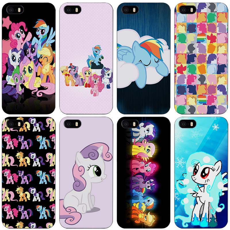 4e3cf9b5d747 My little pony Hard Plastic Case for iPhone Apple 4 4s 5 5s SE 5c 6 ...