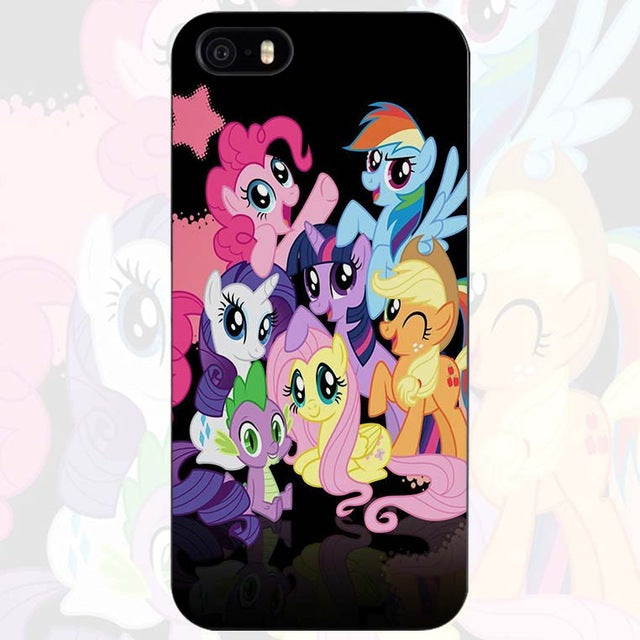93c67a2b17dd ... My little pony Hard Plastic Case for iPhone Apple 4 4s 5 5s SE 5c 6 ...