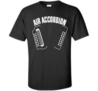 Russell - Air Accordion T Shirt Tee Funny Musical Shirt Gifts /Hoodie/Tank