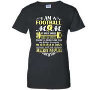 Russell - I Am A Football Mom T Shirt, Sporty Mom T Shirt /Hoodie/Tank