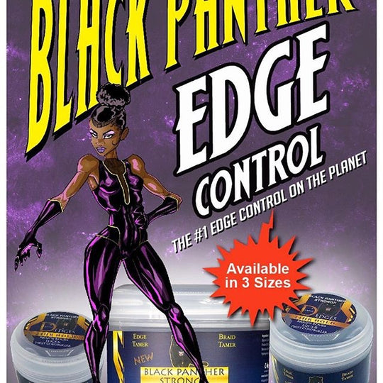 Diamond Edges Black Panther Edge Control