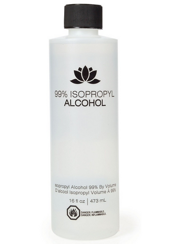 99% ISOPROPYL ALCOHOL 16FL OZ - Textured Tech