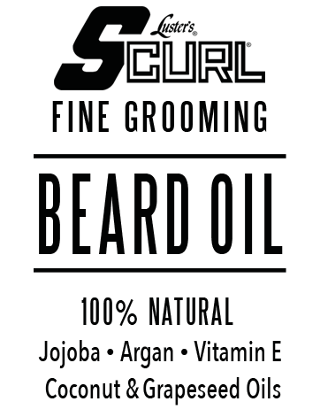 LUSTER'S S CURL BEARD OIL 2 OZ - Textured Tech