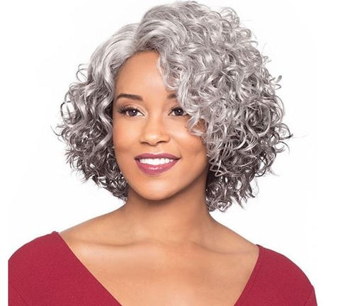 FOXY SILVER MARTINA J LACE WIG - Textured Tech