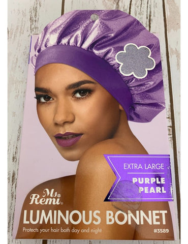 Ms Remi Luminous Bonnet Black Pearl #3589 - Textured Tech