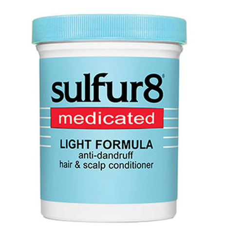 Sulfur 8 Medicated Hair & Scalp Conditioner Light Formula 7.25 Oz - Textured Tech