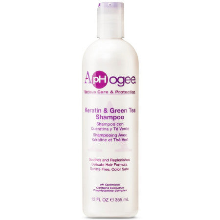 APHOGEE KERATIN/GRN TEA SHAM 12 - Textured Tech