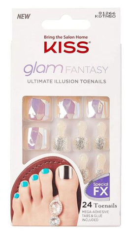KISS GLAM FANTASY ULTIMATE DIAMOND NAILS - Textured Tech