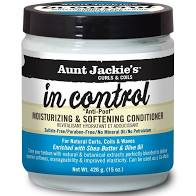 Aunt Jackie'S In Control Moisturizing & Softening Conditioner 15oz - Textured Tech