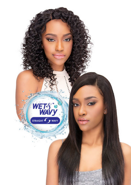 AQUA TRESS DEEP WAVE (WET & WAVY) 3PCS (NATURAL)