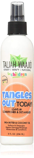 Taliah Waajid for Children Tangles Out Today Leave-in Conditioner Detangler, 8 Oz